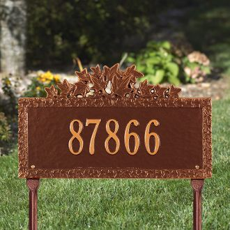 Ivy Plaque - Standard Lawn - One Line
