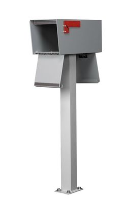 Non-Locking Front and Rear Access Rural Mailbox