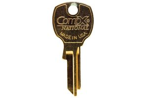 Key Blank Compx/National Key Blank for K91910 Lock w/ Codes 2000Ps-2999Ps Or 4000Ps-4999Ps