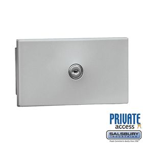 Salsbury 1090AP Key Keeper Aluminum - Recessed Mounted - Private Access