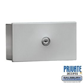 Salsbury 1080AP Key Keeper Aluminum - Surface Mounted - Private Access