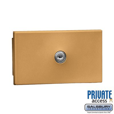 Salsbury 1090BP Key Keeper Brass - Recessed Mounted - Private Access