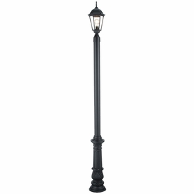 Lamp Post with Base 7 in Decorative Aluminum