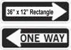 """Large Rectangle Reflective Faceplate 36"""" x 12"""""""