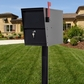 LetterSentry Locking Mailbox with Standard Mounting Post