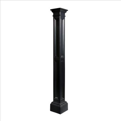 Liberty Lamp Post (decorative sleeve only) in Black