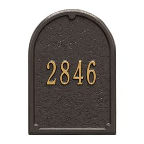Mailbox Plaques Amp Accessories Whitehall Mailboxes