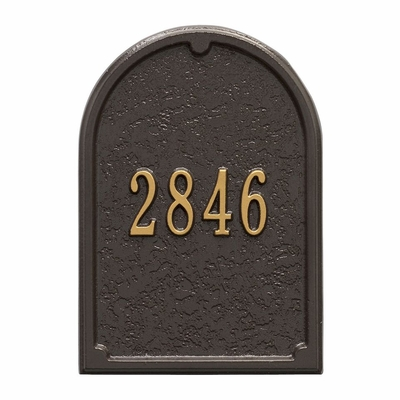 Whitehall Mailbox Personalized Door Panel (Choose Color)