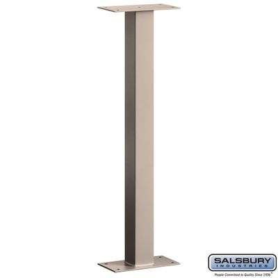 Salsbury 4765BGE Mail House Post Bolt Mounted Beige
