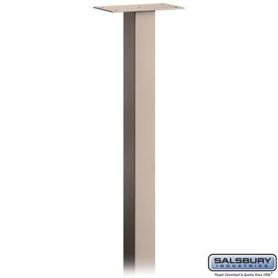 Salsbury 4795BGE Mail House Post In Ground Mounted Beige