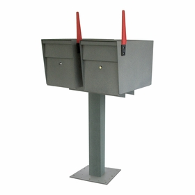 Mailboss High Security Double Mailbox & Post Package (Small Packages)