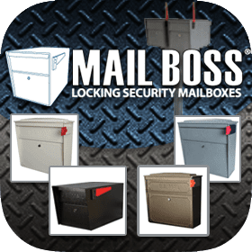 Mail Boss Locking Mailboxes