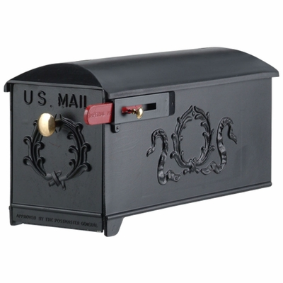 Imperial Mailbox 9 - Olive Wreath (mailbox only)