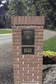 Manchester Non-Locking Column Mount Mailbox with Scroll Emblem in Black