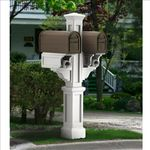 Rockport Double Arm Mailbox Posts