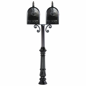 Millbrook Mailbox Post System Series C3 - C3-TWIN