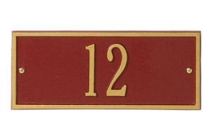 Whitehall Mini Size Hartford Wall Plaque - (1 Line)