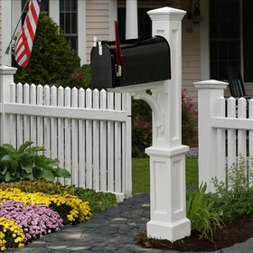 Newport Plus Mailbox Posts
