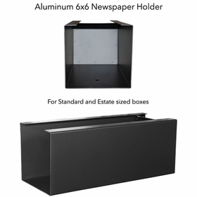 "Newspaper Holder 6"" x 6"" for Mailbox Systems"