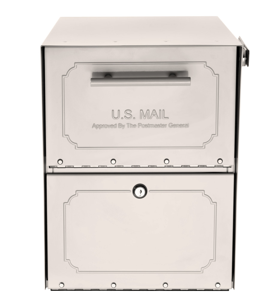 Oasis Jr  Classic Locking Curbside Mailbox (11 5 in  W x 18 in  D x 15 in   H)