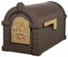Original Keystone Series Mailbox - Bronze with Polished Brass Eagle