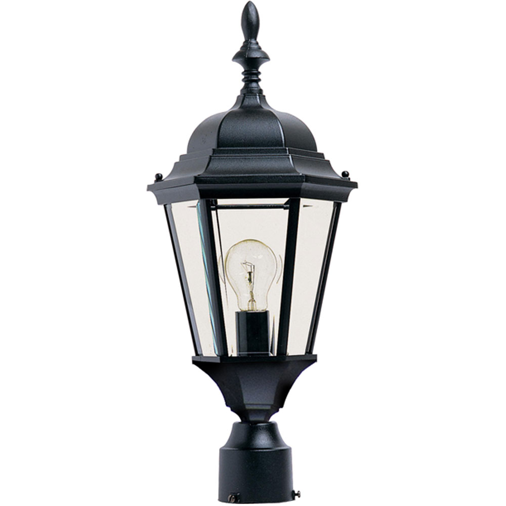 Outdoor Street Post Lights: Outdoor Lamp Post With Decorative