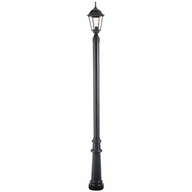 Outdoor Lamp Post with Decorative Base # 8