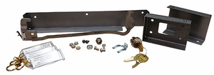 Parcel Locker Lock Kit - includes Lock Kit, Cam Kit, and Cover Kit
