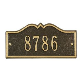 Petite Size Hillsboro Wall or Lawn Plaque - (1 Line)