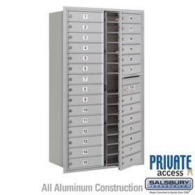 Private 4C Mailboxes Front Loading