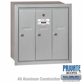 Private Delivery Vertical Mailboxes