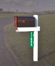Handy Post Single - Single Wide Mailbox Post