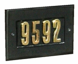 Address Plates for Column Mailboxes