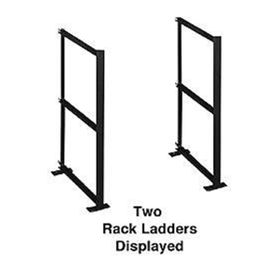 Salsbury 2200C2 Rack Ladder Custom For Aluminum Mailboxes 2 High