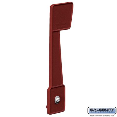 Salsbury 4816A Replacement Flag For Deluxe Rural Mailbox Burgundy