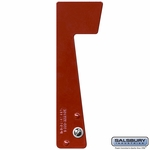 Salsbury 4316 Replacement Flag For Roadside Mailboxes, Mail Chests And Mail Package Drops - Red