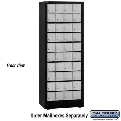 Salsbury 2300 Roll A Bout Aluminum Style (Mailboxes Sold Separately)