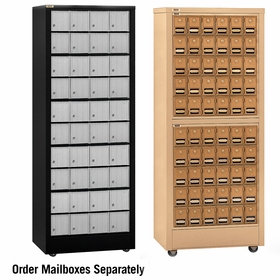 Roll-A-Bout Mail Centers (Aluminum and Brass)