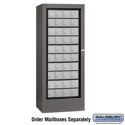 Salsbury 3100SLU Rotary Mail Center Aluminum Style Slate (Mailboxes Sold Separately)