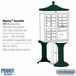 Salsbury 3312GRN-P 12 Door Cluster Mailbox Green - Private Access