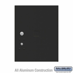 Salsbury 3455BLK 4C Pedestal Mailboxes Replacement Door