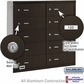 Salsbury 3610ZRU 4B Mailboxes 10 Tenant Doors Rear Loading - USPS Access