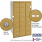 Salsbury 3621GRU 4B Mailboxes 21 Tenant Doors Rear Loading - USPS Access