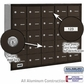 Salsbury 3625ZRU 4B Mailboxes 25 Tenant Doors Rear Loading - USPS Access