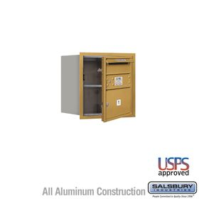Salsbury 3704S-01GFU 4C Mailboxes 1 Tenant Doors Front Loading