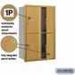Salsbury 3712D-4PGFU 4C Mailboxes 4 Parcel Lockers Front Loading