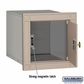 Salsbury 4140P-BGE Column Mounted Mailbox Without Slot In Beige