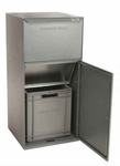 Secure Outgoing Private Use Collection Bins