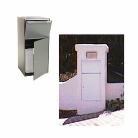 Secure Collection Unit (with tote) - Gray
