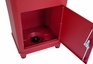 Secure Elephant Trunk Locking Mailbox for Parcel Delivery in Red